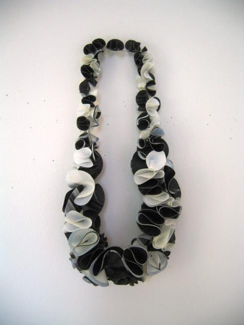 plastic bag necklace