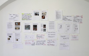 Research wall